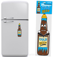 COLD BEER JUMBO MAGNET