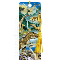 3D DINOSAUR VALLEY BOOKMARK