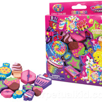 LISA FRANK SWEET TREATS ERASERS
