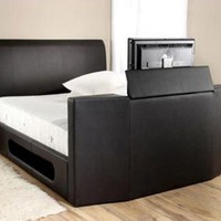 Manhattan Leather TV Bed