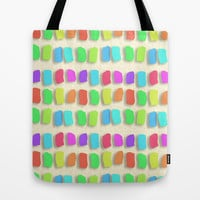 Pastel Colors Paint Dabs Tote Bag by Tees2go