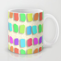 Pastel Colors Paint Dabs Mug by Tees2go