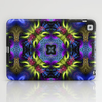 Geometric Fractal - Goa Nights iPad Case by Webgrrl