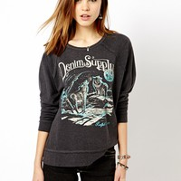 Denim & Supply By Ralph Lauren - Sweat motif tête de loup