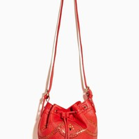Love Scene Bucket Bag - Red