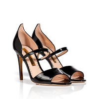 Rupert Sanderson - Patent Leather Ophelia Sandals