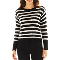 Worthington® Long-Sleeve Striped Sweater