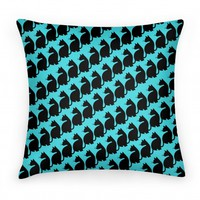 Cats Pattern Pillow