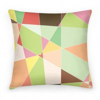 Mosaic Pattern Pillow