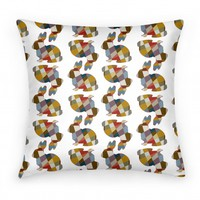 Bunny Pattern  Pillow