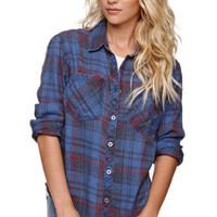 Nollie Oversized Boyfriend Flannel Shirt at PacSun.com