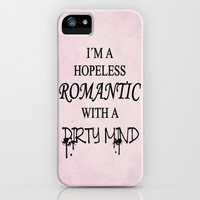 Dirty Romantic iPhone & iPod Case by Nicklas Gustafsson
