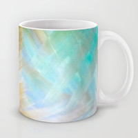 Sand & Water abstract Mug by DuckyB (Brandi)