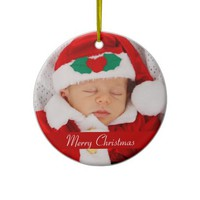 Photo Christmas Ornaments With Baby