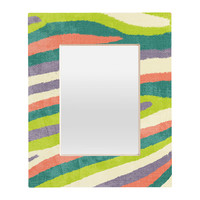 Nick Nelson Fruit Stripes Rectangular Mirror