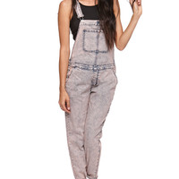 Bullhead Denim Co Boyfriend Overalls at PacSun.com