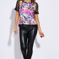 Organza Party Top