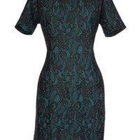 Brilliant Brocade Soiree Dress