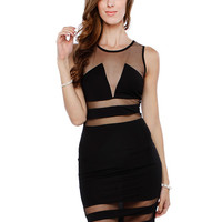 MASH BODYCON DRESS