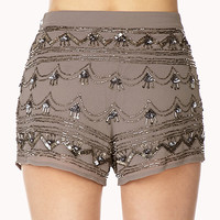 Vintage-Inspired High-Waisted Shorts