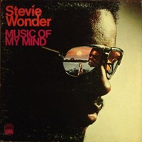 "Stevie Wonder - ""Music Of My Mind"" 12"" Vinyl LP 1972 US TAMLA T-314L Soul Funk"