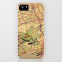 All Mine Los Angeles iPhone & iPod Case by CAPow!