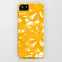 The Golden Garden  iPhone & iPod Case by Lauren Lee Designs