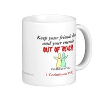 Friendship Agrainofmustardseed.com Coffee Mug