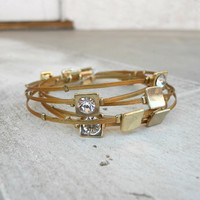 Luminescent Bracelet [4750] - $18.00 : Vintage Inspired Clothing & Affordable Dresses, deloom | Modern. Vintage. Crafted.