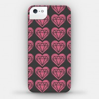 Diamond Heart Pattern Case