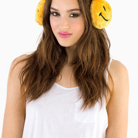 Smiley Earmuffs $11
