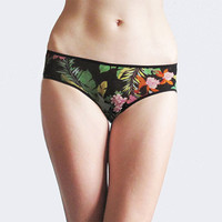 Panties with Flowers, Tropical FLOWERS
