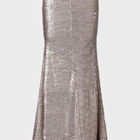 Persephone Sequined Maxi Skirt By Line & Dot