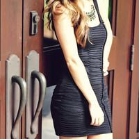 Tight In The Night Dress: Black