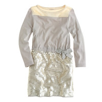 GIRLS' SEQUIN SKIRT DRESS