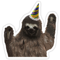 Party Animal - Sloth