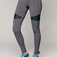 Lace Mix Yoga Pant