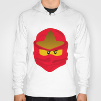 Ninja Face Kai Hoody by Lauren Lee Designs