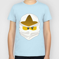 Ninjago Face Zane Kids T-Shirt by Lauren Lee Designs