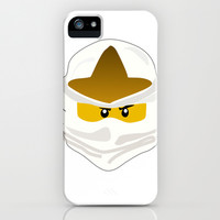 Ninjago Face Zane iPhone & iPod Case by Lauren Lee Designs