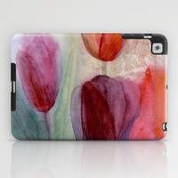 tulips iPad Case by rysunki-malunki