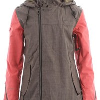 Cappel Heartbeat Snowboard Jacket Metal Revolver Chambray Womens