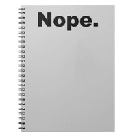 Nope. Notebook