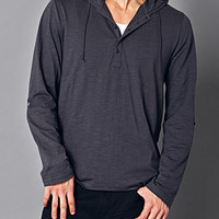 Everyday Hooded Henley