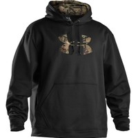 Under Armour Fleece Tackle Twill Logo Hoodie