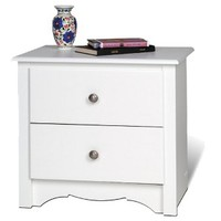 Monterey Nightstand - White