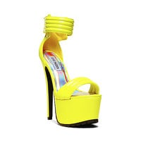 Steve Madden - TURNITUP YELLOW PATENT