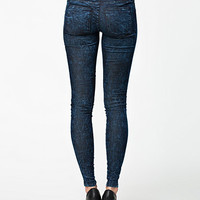 KISSY DENIM LEGGINGS