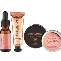 Josie Maran Argan Oil 4-Piece Skin Renewal Collection — QVC.com