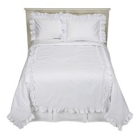 Simply Shabby Chic® Heirloom White Comforter